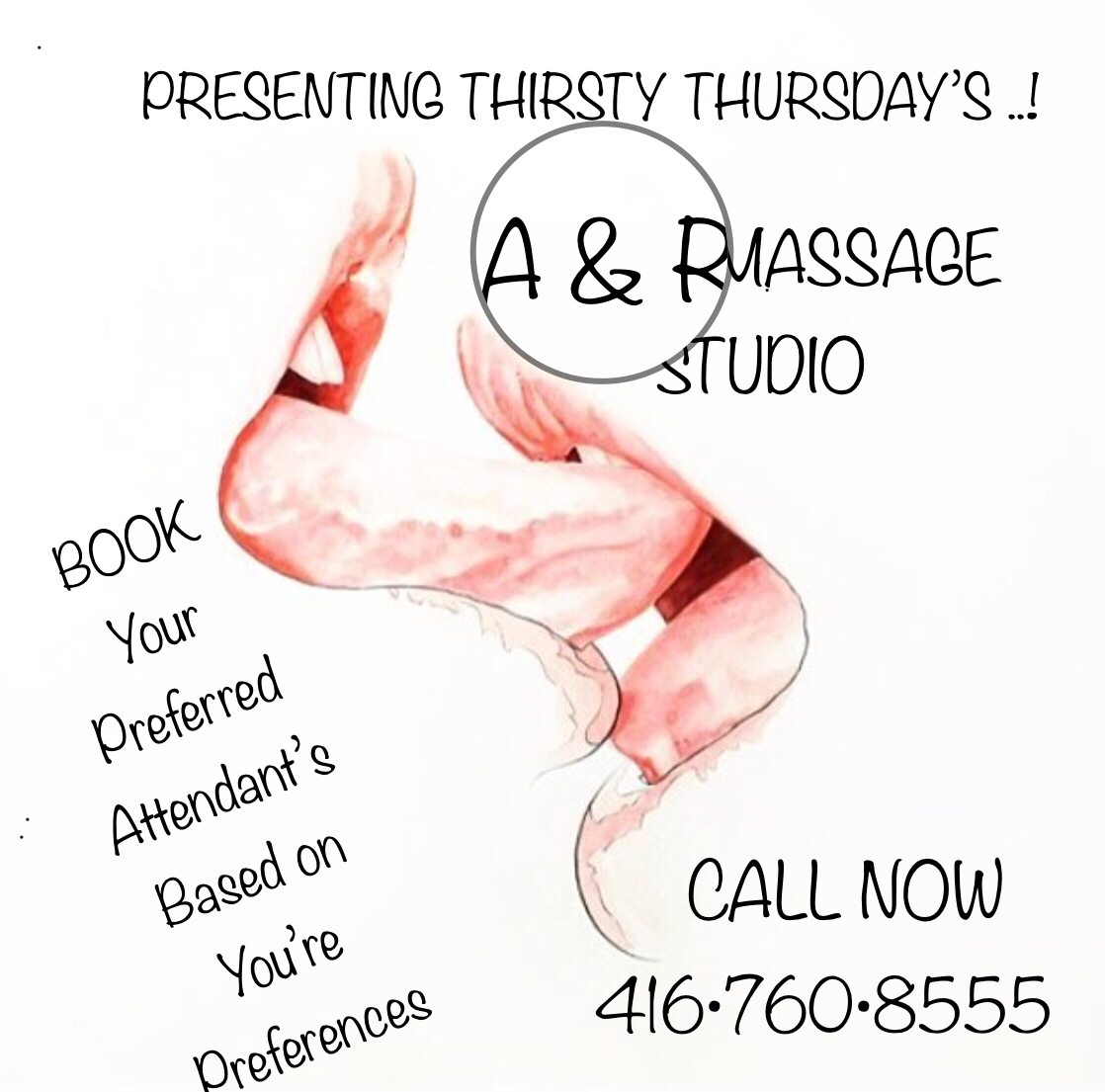 ★THIRSTY-THURSDAYS ★EROTIC ★FOREPLAY★GFE★MASSAGE★OR•LITTLE MORE★•INTENSITY★★GTA★★OUR WILD ★•NAUGHTY★•SEXY★★*GENTLEMEN'S RETREAT*★★A&R★★416-760-8555★