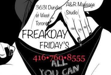 ★FREAKDAY★FRIDAYS★GTA★★•NAUGHTY STUDENTS★•EROTIC★MASSAGE★LITTLE MORE★INTENSITY★FOREPLAY★416-760-8555★OUR WILD ★•NAUGHTY★•SEXY★★*GENTLEMEN'S RETREAT*★★A&R★★416-760-8555★
